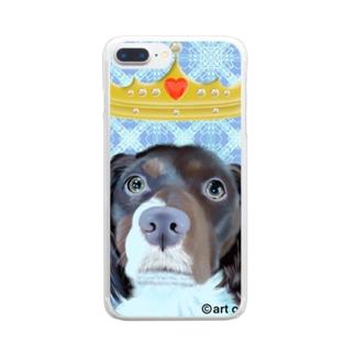 クイーン6 Clear smartphone cases