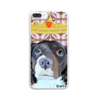クイーン7 Clear smartphone cases