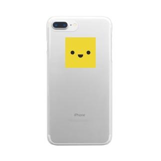 きいろいやつ Clear smartphone cases