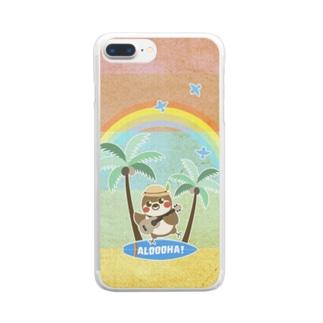 だいきちサマーホリデー Clear smartphone cases