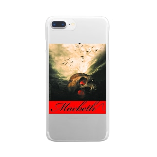 マクベス(Macbeth) Clear smartphone cases