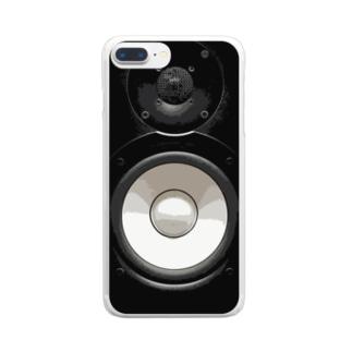 モニタースピーカー Clear smartphone cases