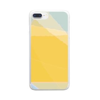 サバクとソラ Clear smartphone cases