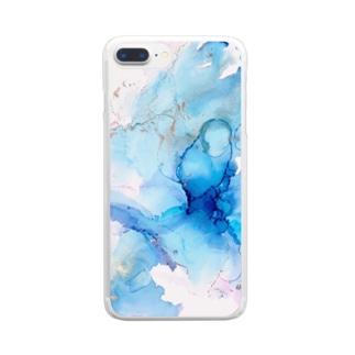 インクアート グッズ Clear smartphone cases