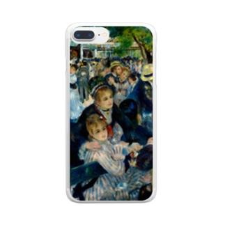 ルノワール/ムーラン・ド・ラ・ギャレット Clear smartphone cases