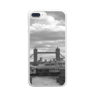 テムズリバー Clear smartphone cases