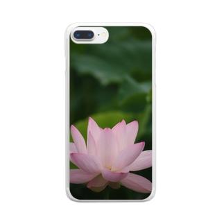 蓮~平安 Clear smartphone cases