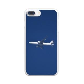 旅客機:ボーイング777 Boeing 777 ? Clear smartphone cases