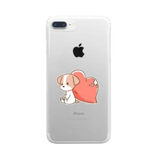 よりそうさくら Clear smartphone cases