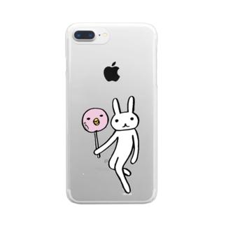 ことりキャンデー Clear smartphone cases