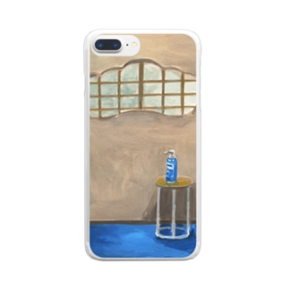 〜HAND GEL〜 Clear smartphone cases