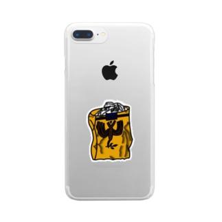 平和タバコ Clear smartphone cases