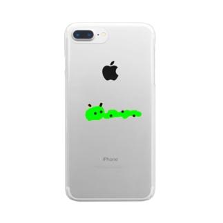 ありがとアリくん Clear smartphone cases