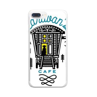 キャラバンズカフェ Clear smartphone cases