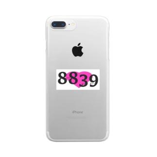 8839 Clear Smartphone Case
