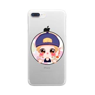 パンプキンコレクション Clear smartphone cases