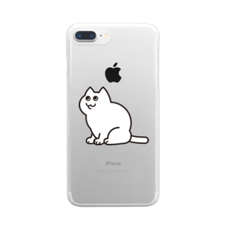 NEKOCHAN Clear smartphone cases