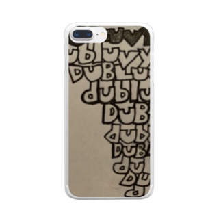 dubluvyobs Upside Down Triangle Clear smartphone cases