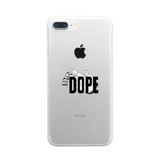 DOPEオリジナル!! Clear smartphone cases