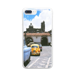 FUCHSGOLDのメキシコ:タスコの風景写真 Mexico: view of Taxco Clear smartphone cases