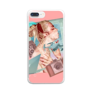 Girl & Money Clear Smartphone Case