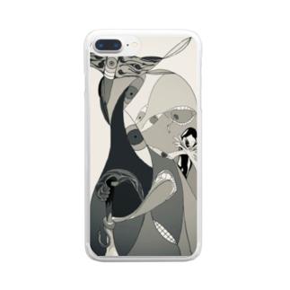 Ironashi Clear smartphone cases