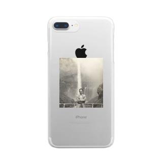 祖父 Clear smartphone cases