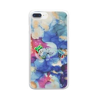 RYO NISHIWAKIのwatar Clear smartphone cases