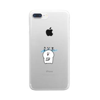キシタク店長 Clear smartphone cases
