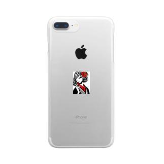 和服美人 Clear smartphone cases