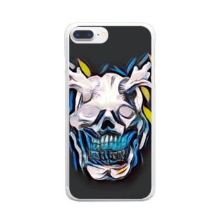 オーガ/emotion ケース Clear smartphone cases