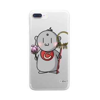 じぞう丼 Clear smartphone cases