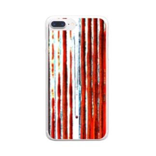 トタン Clear smartphone cases
