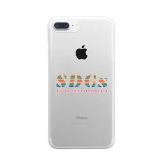 SDGs - think sustainability Clear smartphone cases
