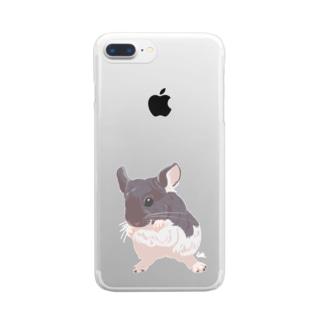 モルパラ2021 ふう太ちゃん Clear smartphone cases