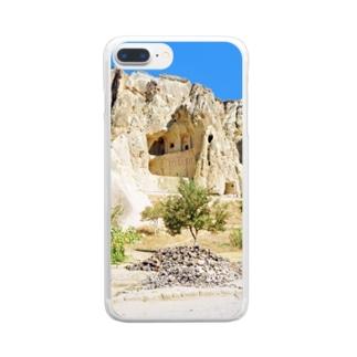 トルコ:ギョレメの岩窟教会 Turkey: Göreme Milli Parklar Clear smartphone cases