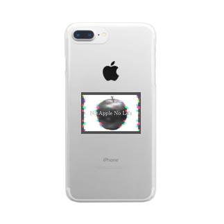 No Apple No Life. Clear Smartphone Case