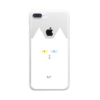ネコスマホ Clear smartphone cases