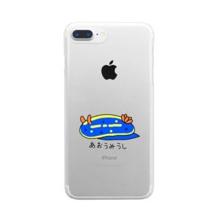 あおうみうし Clear smartphone cases