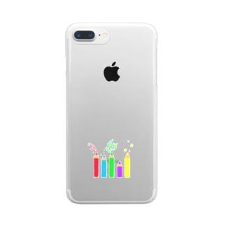いろえんぴつ Clear Smartphone Case