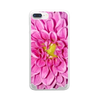 Dahlia Clear smartphone cases