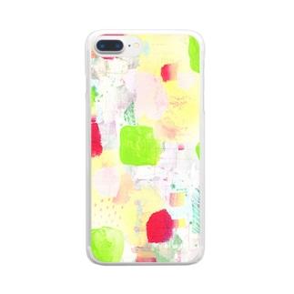 花びら Clear smartphone cases