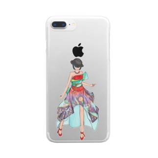 Ericaさま Clear smartphone cases
