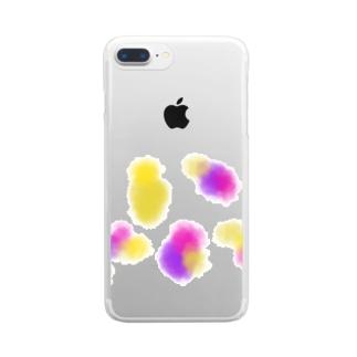 淡い夢 Clear smartphone cases