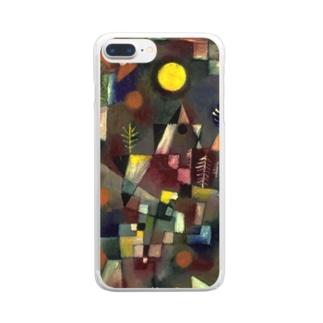 パウル・クレー 《満月》 Clear smartphone cases