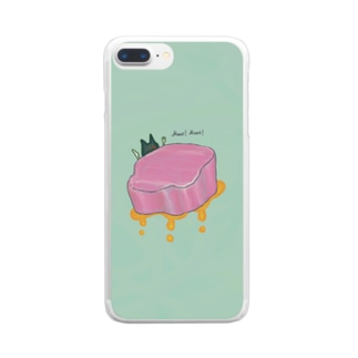 Meat! Meat! Clear Smartphone Case