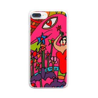 うーんマンボ! Clear Smartphone Case