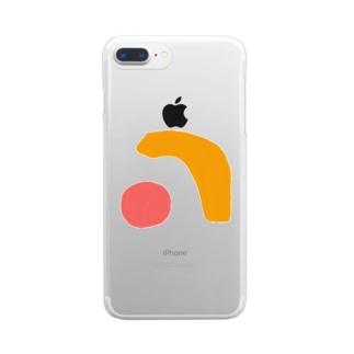 asobi Clear Smartphone Case