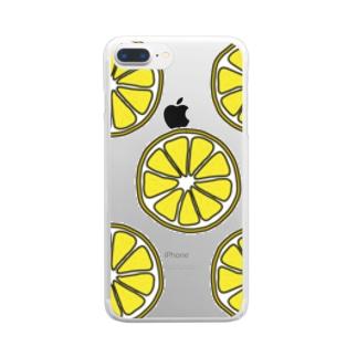レモン Clear Smartphone Case