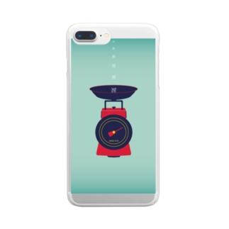 💔塩辛い恋💔 Clear smartphone cases